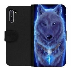 Samsung Galaxy Note 10 Wallet Case Lunar Presence Wolf