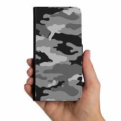 Samsung Galaxy Note 20 Mobilskalsväska Military B/W