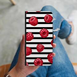 OnePlus 8 Plånboksskal Raspberries