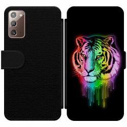 Samsung Galaxy Note 20 Wallet Slim Case Tiger