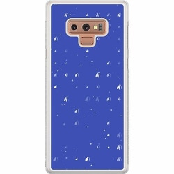 Samsung Galaxy Note 9 Soft Case (Frostad) Bubbles Invaders