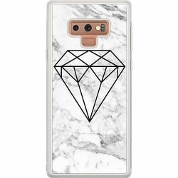 Samsung Galaxy Note 9 Soft Case (Frostad) Marmor Diamant