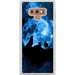 Samsung Galaxy Note 9 Soft Case (Frostad) Statement Wolf 1055