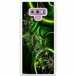 Samsung Galaxy Note 9 Soft Case (Vit) Blommor