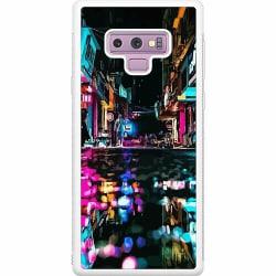 Samsung Galaxy Note 9 Soft Case (Vit) Cyberpunk 2077