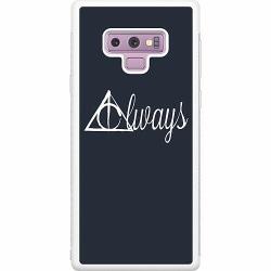 Samsung Galaxy Note 9 Soft Case (Vit) Harry Potter