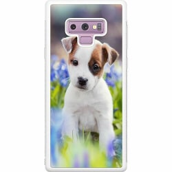 Samsung Galaxy Note 9 Soft Case (Vit) Hund
