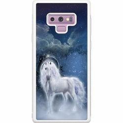 Samsung Galaxy Note 9 Soft Case (Vit) Magical Horse