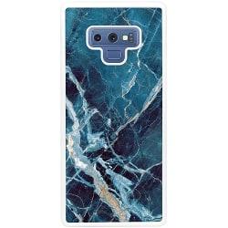 Samsung Galaxy Note 9 Soft Case (Vit) Marmor