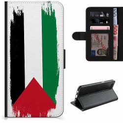 Apple iPhone 7 Plus Lyxigt Fodral Palestina Flagga