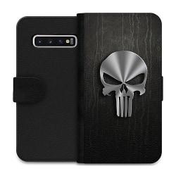 Samsung Galaxy S10 Wallet Case The Punisher