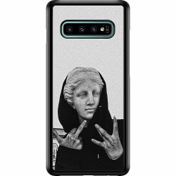 Samsung Galaxy S10 Plus Hard Case (Svart) Hello!