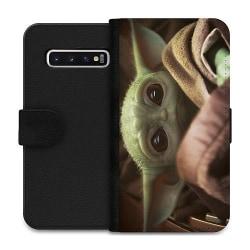 Samsung Galaxy S10 Wallet Case Baby Yoda