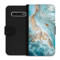 Samsung Galaxy S10 Wallet Case Magic Marble