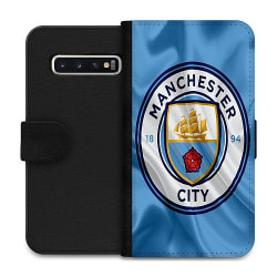Samsung Galaxy S10 Wallet Case Manchester City