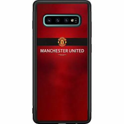 Samsung Galaxy S10 Plus Soft Case (Svart) Manchester United