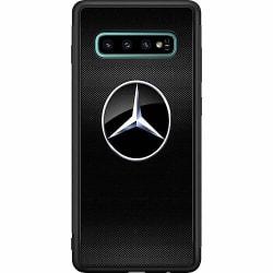 Samsung Galaxy S10 Plus Soft Case (Svart) Mercedes
