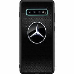 Samsung Galaxy S10 Plus Soft Case (Svart) Mercedes