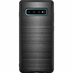 Samsung Galaxy S10 Plus Soft Case (Svart) Metallic