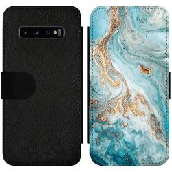 Samsung Galaxy S10 Plus Wallet Slim Case Magic Marble