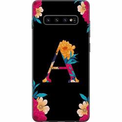 Samsung Galaxy S10 Thin Case Bokstaven - A