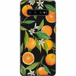 Samsung Galaxy S10 Thin Case Orange Juice