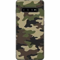 Samsung Galaxy S10 Plus Thin Case Woodland Camo
