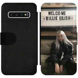 Samsung Galaxy S10 Wallet Slim Case Billie Eilish