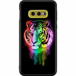 Samsung Galaxy S10e Soft Case (Svart) Neon Tiger