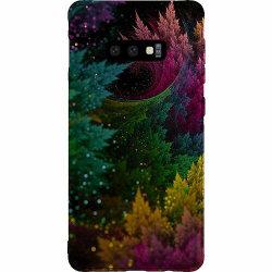 Samsung Galaxy S10e Thin Case Pixel Forest