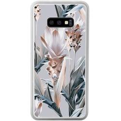 Samsung Galaxy S10e Soft Case (Frostad) Blommor