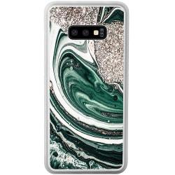 Samsung Galaxy S10e Soft Case (Frostad) Grön