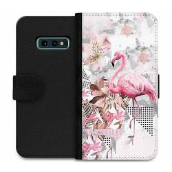 Samsung Galaxy S10e Wallet Case Flamingo