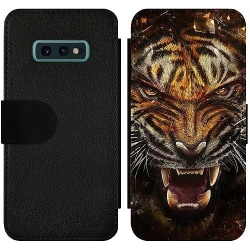 Samsung Galaxy S10e Wallet Slim Case Angry Tiger