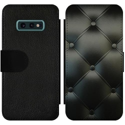 Samsung Galaxy S10e Wallet Slim Case Black Leather