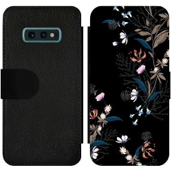 Samsung Galaxy S10e Wallet Slim Case Blommor