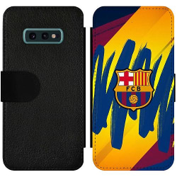 Samsung Galaxy S10e Wallet Slim Case FC Barcelona