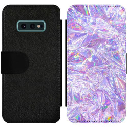 Samsung Galaxy S10e Wallet Slim Case Holographic Diamonds