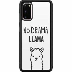 Samsung Galaxy S20 Soft Case (Svart) Llama Drama