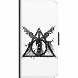 Huawei P40 Lite E Wallet Case Deathly Hallows