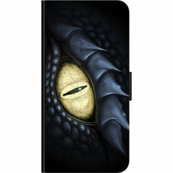Huawei P40 Lite E Wallet Case Eye Of The Dragon