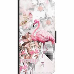 Huawei P40 Lite E Wallet Case Flamingo