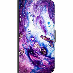 OnePlus Nord Wallet Case Galaxy Marble