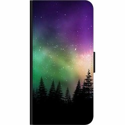 Huawei P40 Lite E Wallet Case Northern Lights