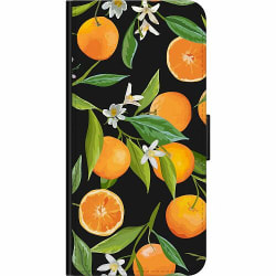 Huawei P40 Lite E Wallet Case Orange Juice