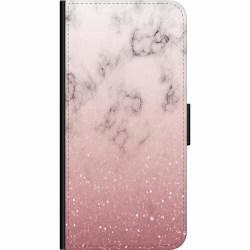 Huawei P40 Lite Wallet Case Soft Pink Marble
