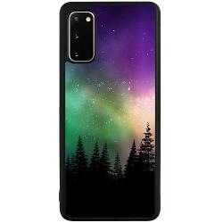 Samsung Galaxy S20 Soft Case (Svart) Northern Lights