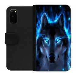 Samsung Galaxy S20 Wallet Case Wolf