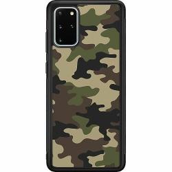 Samsung Galaxy S20 Plus Soft Case (Svart) Woodland Camo