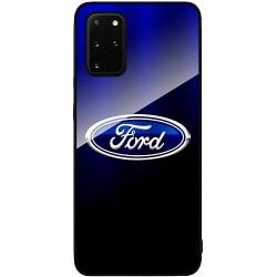 Samsung Galaxy S20 Plus Svart Mobilskal med Glas Ford